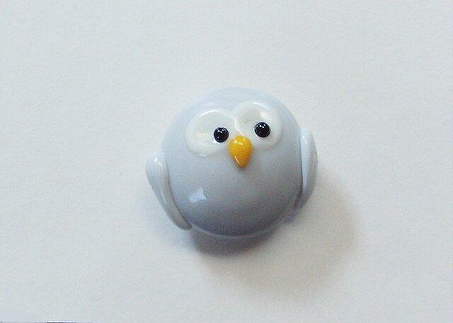 キャラクターボタン・フクロウの画像1枚目