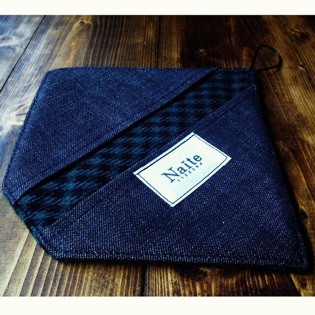 オーブングローブ / Wool check oven glove 【NEW OPEN限定 送料無料】の画像1枚目