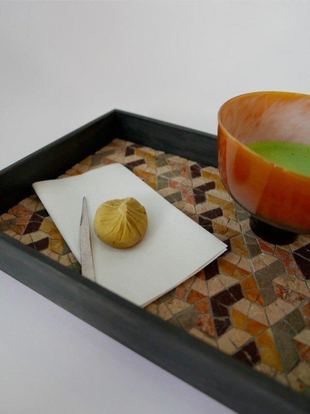 茶流 SALUT L-tray 『Y』Autumn colorの画像1枚目