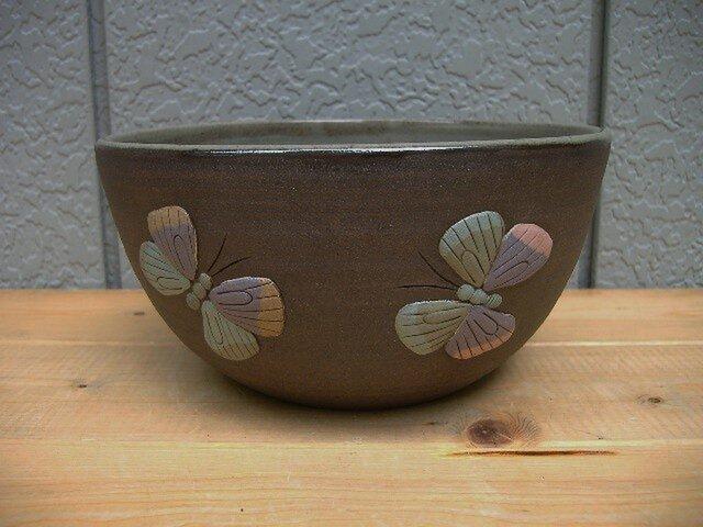 レリーフボウル(大)蝶の画像1枚目
