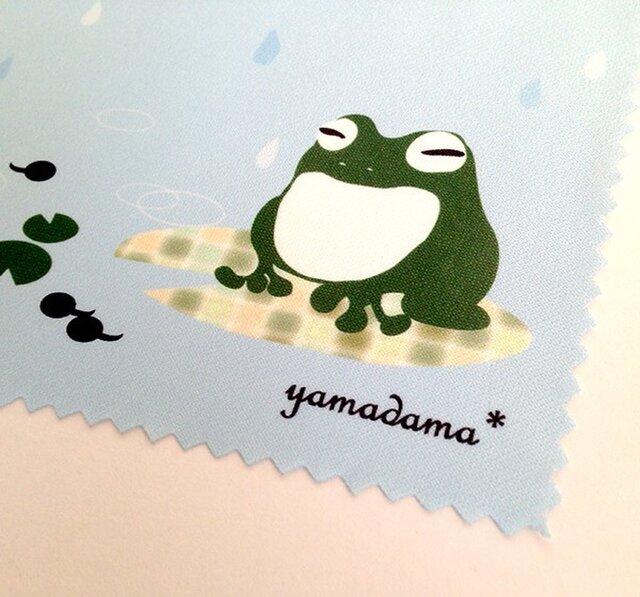 【再販】yamadama*めがね拭き(カエル)の画像1枚目
