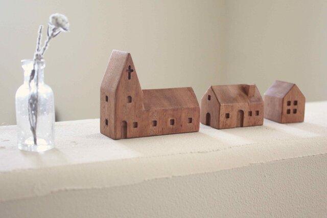小さな木の家 ー教会26ーの画像1枚目