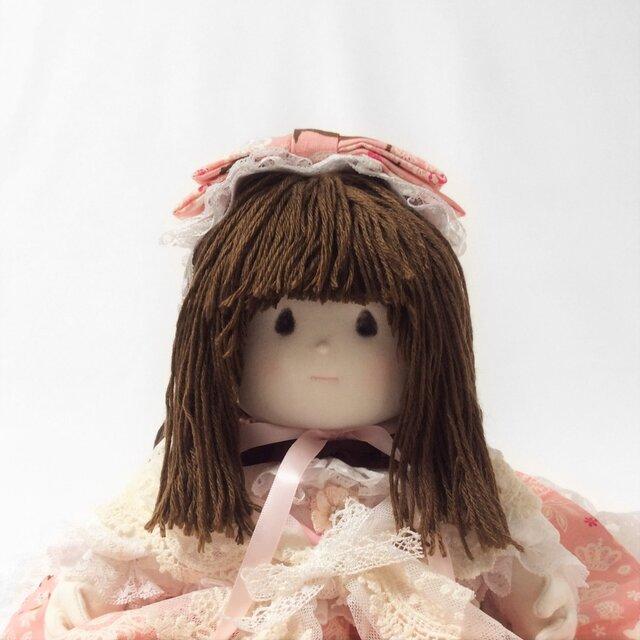 布人形 女の子<ピンク、ドーリー>Akodoll#15-024の画像1枚目