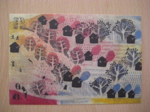 ポストカード 『夏至を迎えた日』 2枚セットの画像1枚目