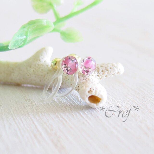 sold:*petite element*petal earringsの画像1枚目