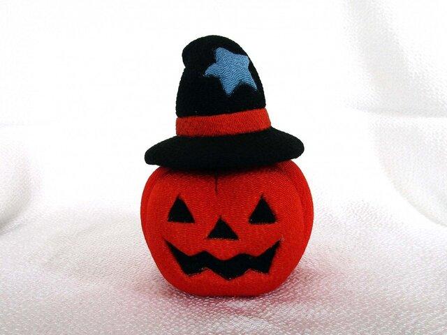 ハロウィン かぼちゃ(オレンジ)の画像1枚目