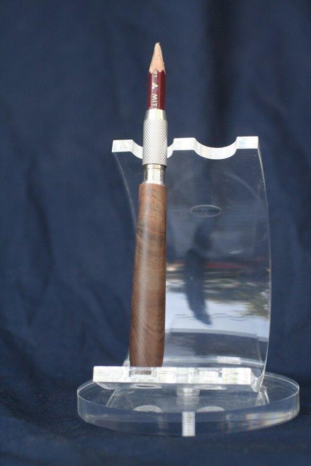 エクスペンダー 胡桃(くるみ) 鉛筆補助軸 サブマリンタイプの画像1枚目