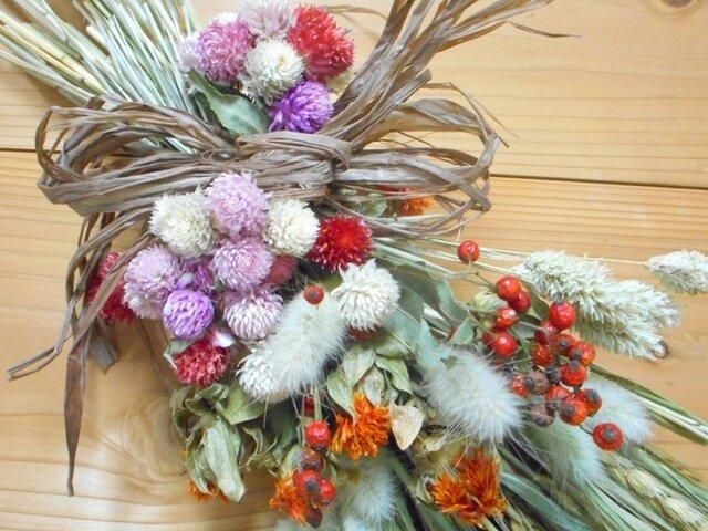 スワッグー雑穀と紅花の画像1枚目