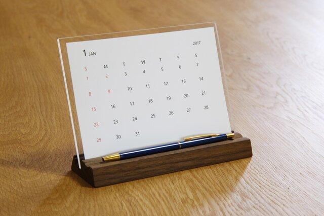 卓上カレンダー desk calendarの画像1枚目