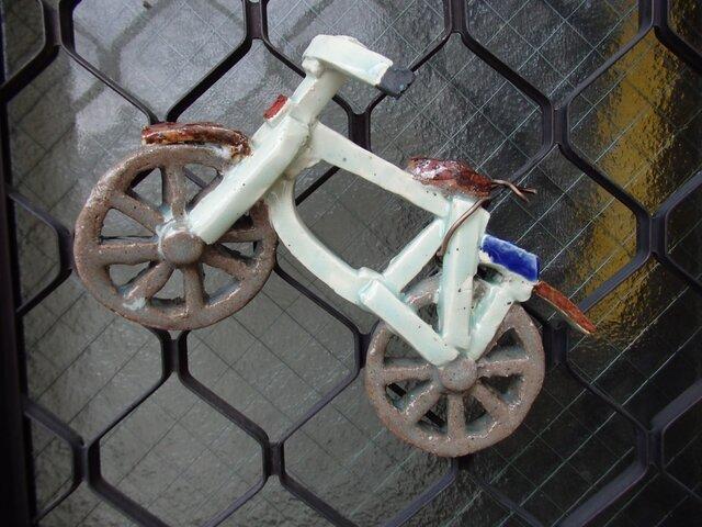 壁掛け自転車の画像1枚目