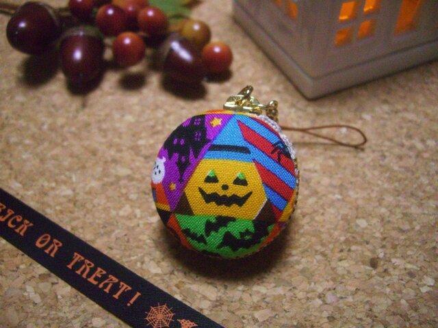 ハロウィン・マカロン 鋭角かぼちゃ(クール)の画像1枚目