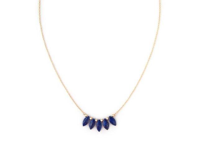 <SALE> BLUE VELVET Necklaceの画像1枚目