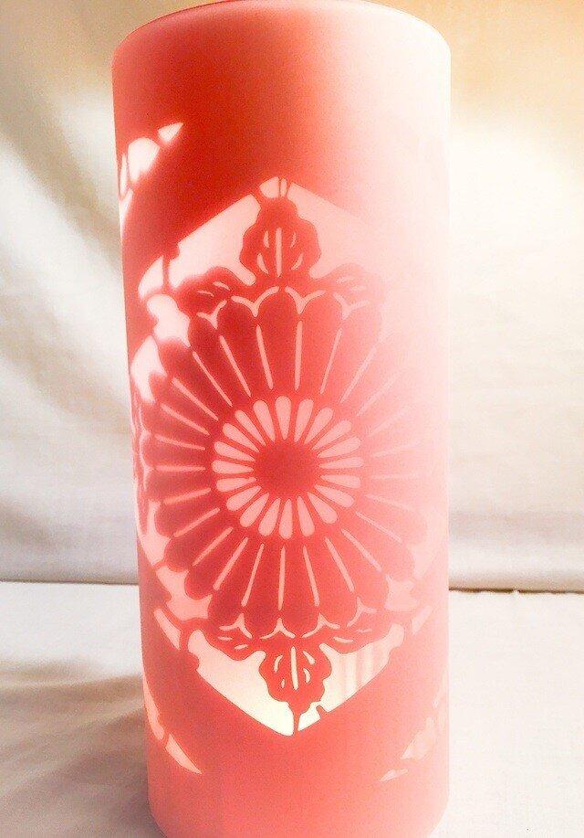 灯篭 / 沖縄紅型模様 / Atelier TanTan & 和-Designの画像1枚目
