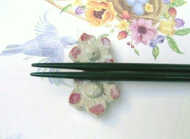 ◆◇◆花箸置きの画像1枚目