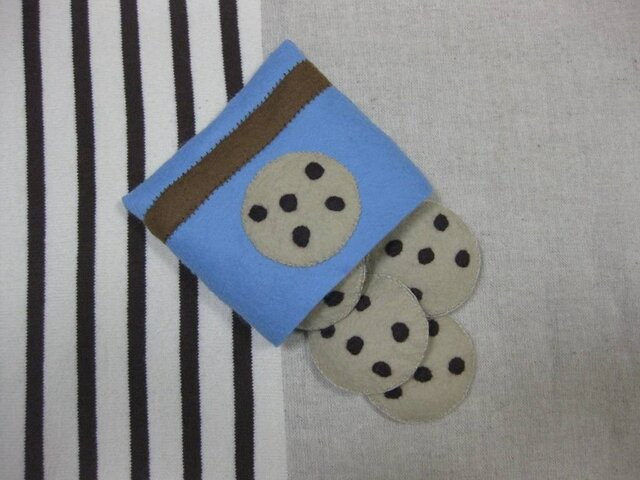 チョコチップクッキーの画像1枚目