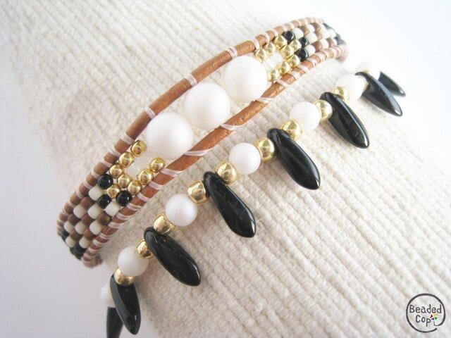 """Beading bracelet """"Independent woman""""の画像1枚目"""