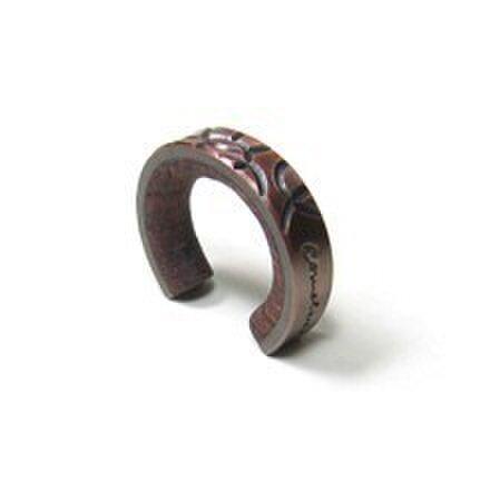 cometman 銅とブビンガ材のリング1の画像1枚目