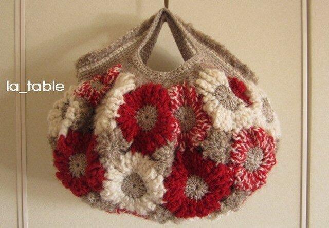花たくさんのバッグ「CAMELLIA」の画像1枚目