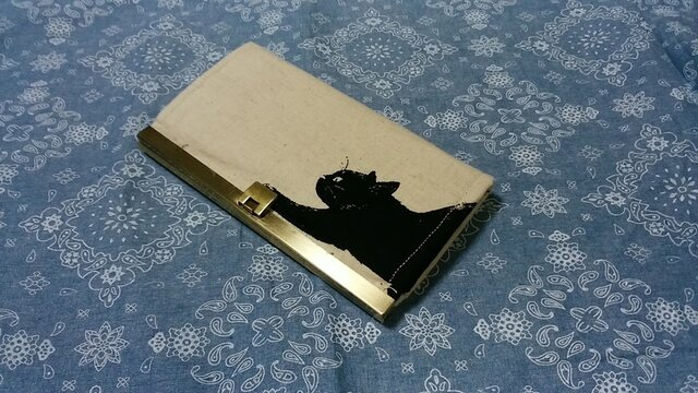 がま口長財布の画像1枚目