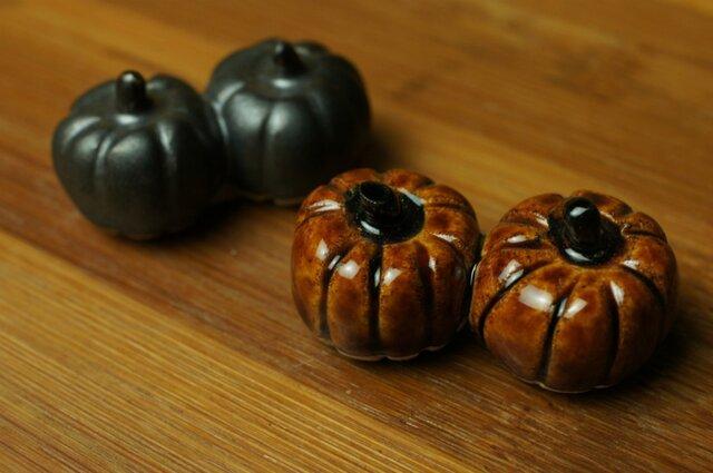 かぼちゃの箸置き2個セットの画像1枚目