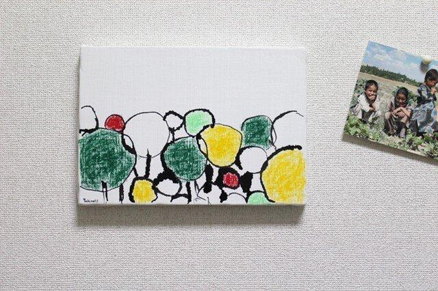 森(原画)の画像1枚目