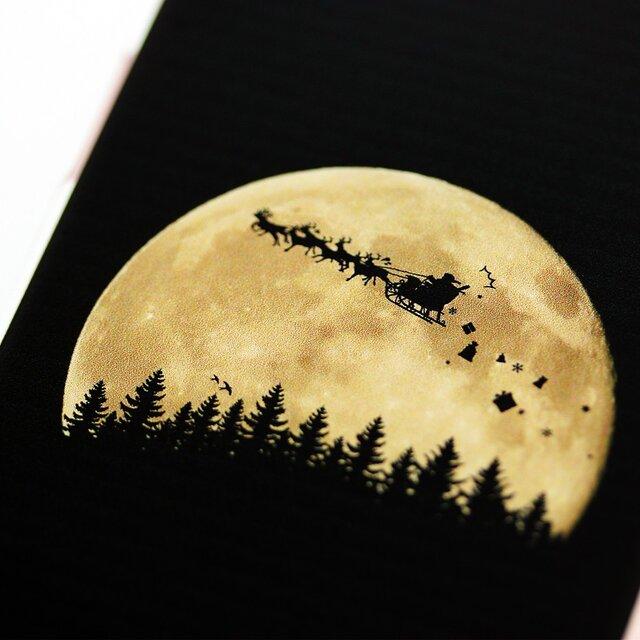 iPhoneやスマホ対応★THE MOON LANDSCAPE★クリスマス版の画像1枚目