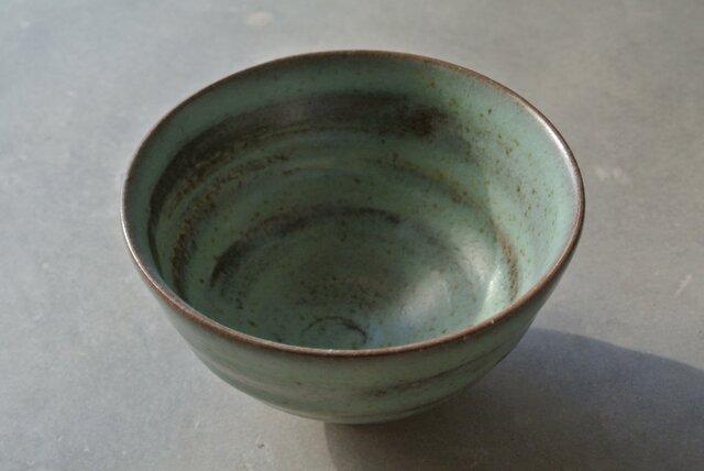 緑の器 002 飯碗の画像1枚目