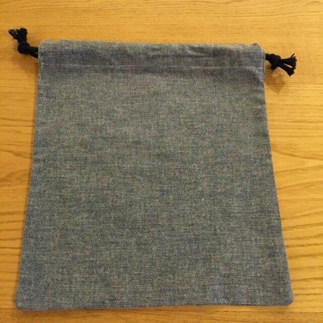シンプルで持ちやすい巾着の画像1枚目