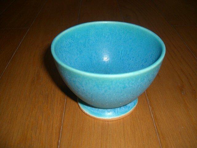 トルコブルーのカップの画像1枚目