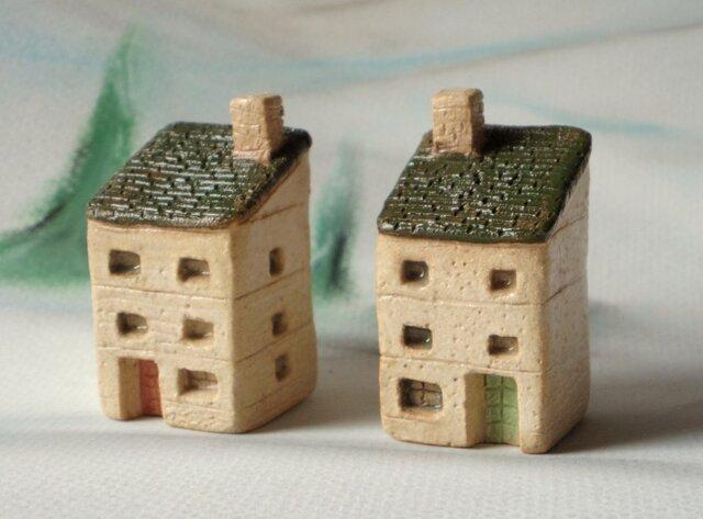 陶の家-緑の屋根の双子アパートの画像1枚目
