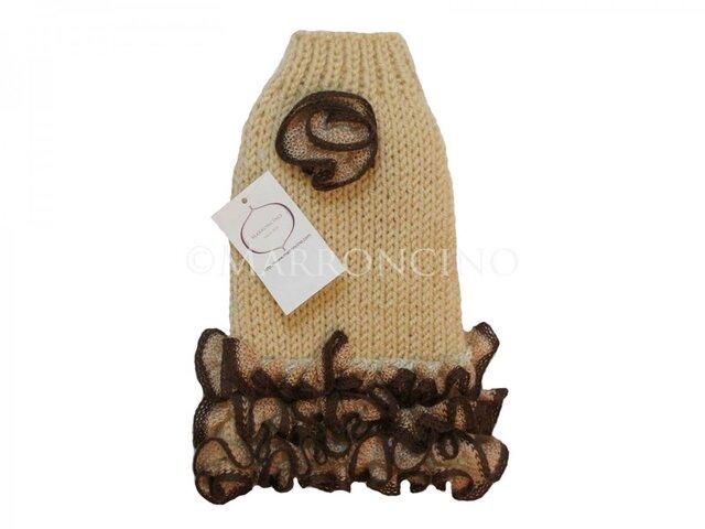 【犬セーター】フラメンコワンピース〔#13-170〕の画像1枚目