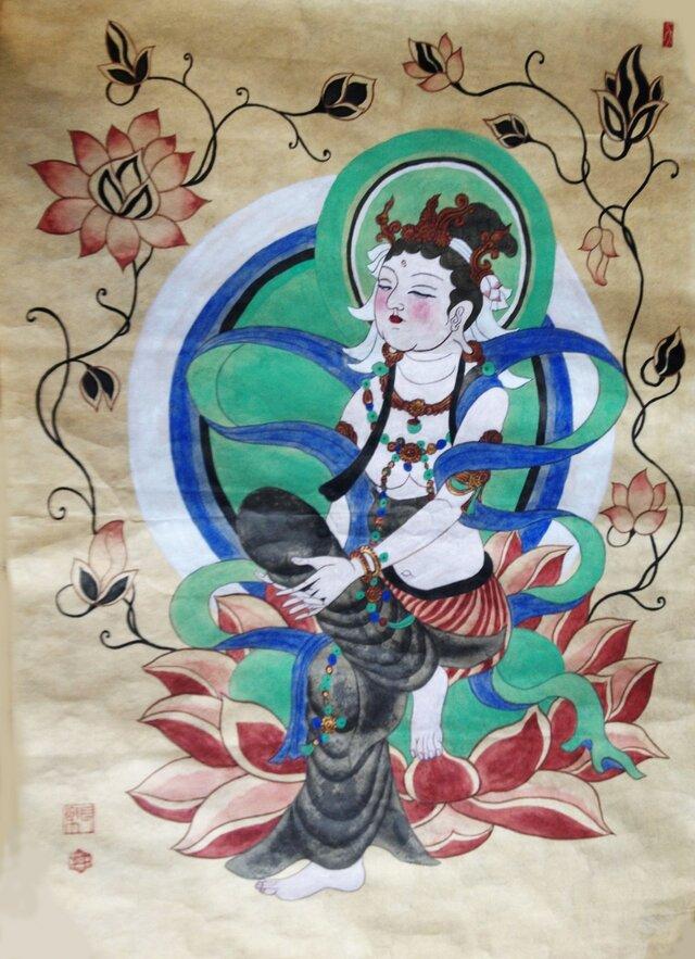 敦煌の仏様の画像1枚目