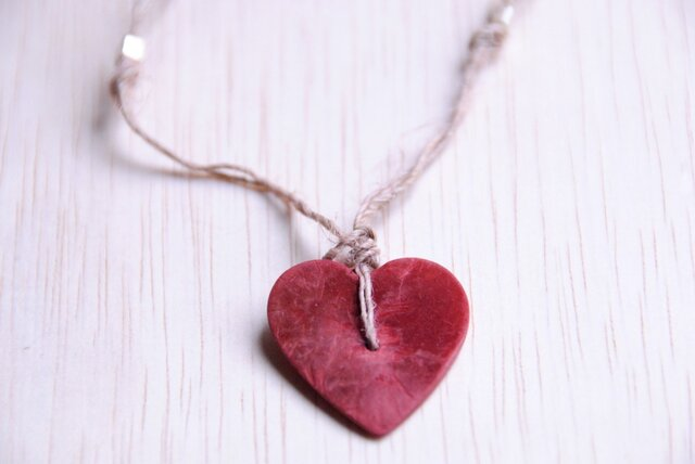 Tippi『Red Heart Pendant』ペンダント 5/5の画像1枚目
