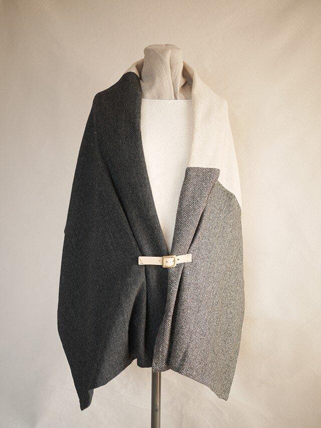 resale▼ three cloth leathrbelt stole <E>の画像1枚目