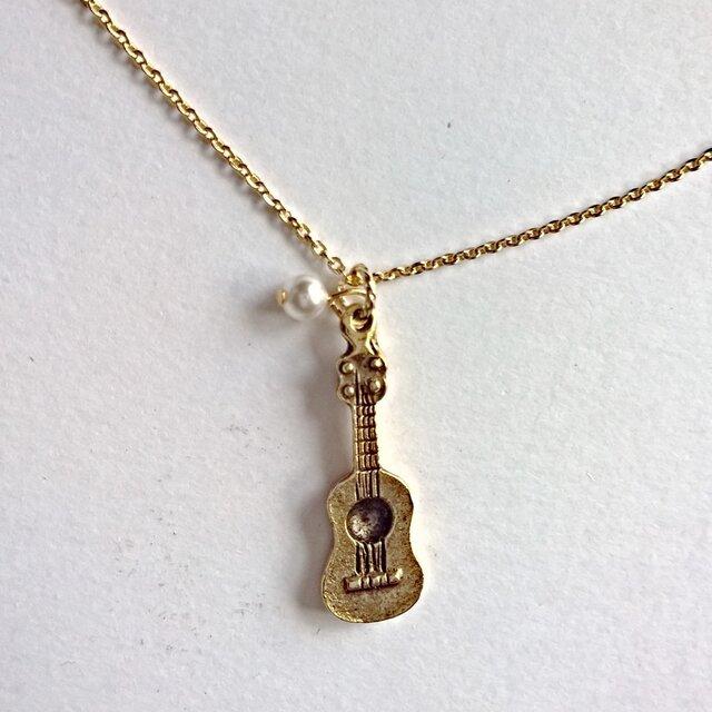 【ギター のネックレス】の画像1枚目