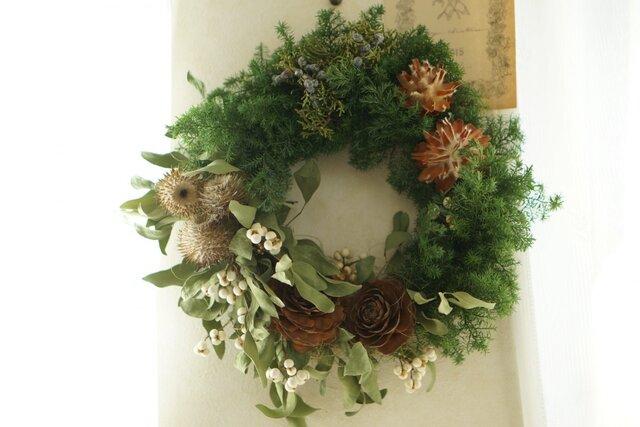 fresh wreath(large)の画像1枚目