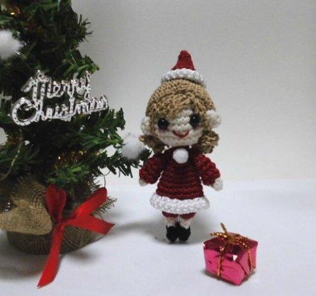 2015 クリスマスの編みぐるみちゃん♪の画像1枚目