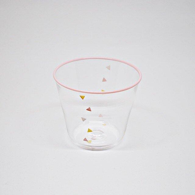 Confetti-グラス(ペールピンク)の画像1枚目