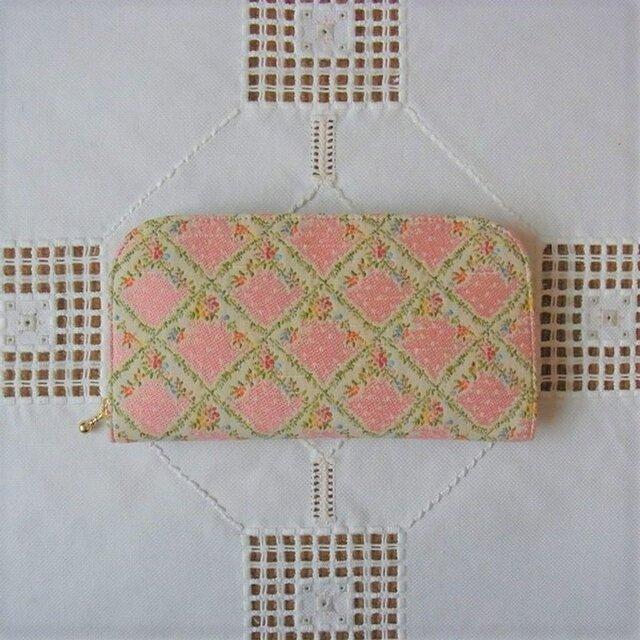 再販:長財布(ゴブラン織り)の画像1枚目