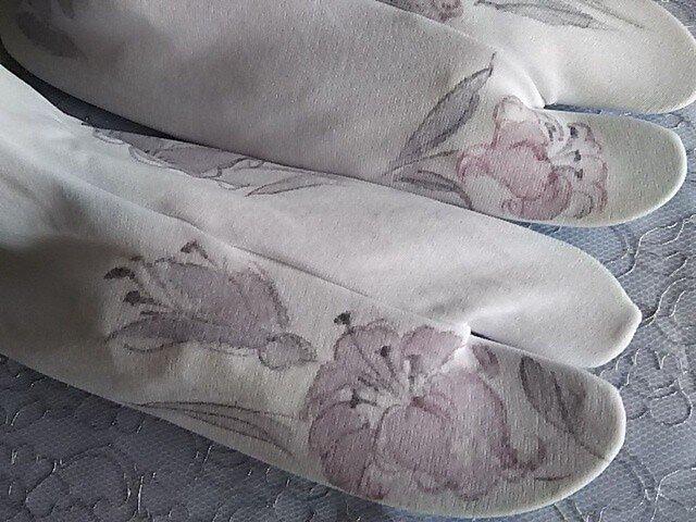 百合の足袋 (ストレッチ)の画像1枚目