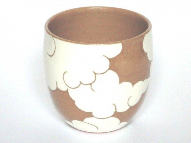 湯呑茶碗 ひつじ雲の画像1枚目