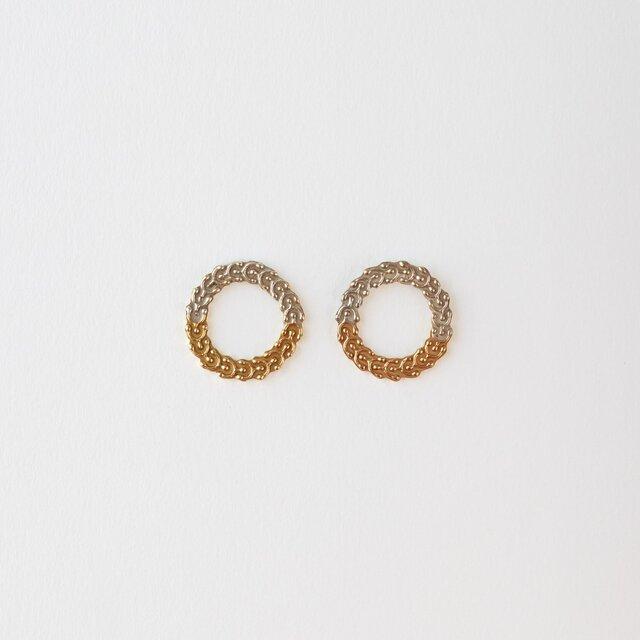 【受注生産】Marine plants P.Earrings  (ピアス)の画像1枚目