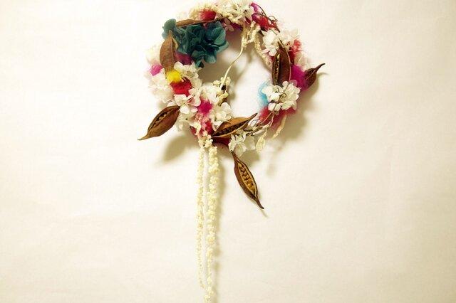 parrot wreath fluffyの画像1枚目