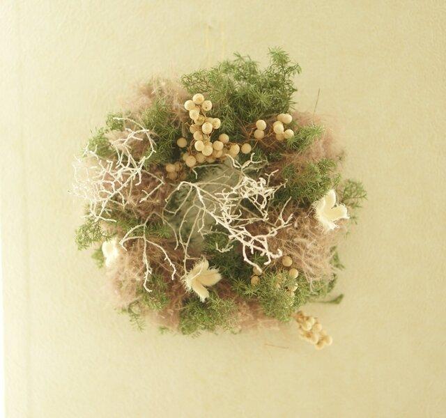 ほっこり♡ simple wreathの画像1枚目