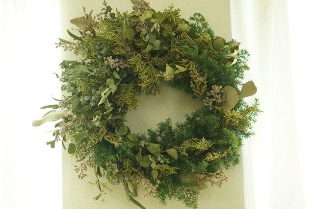 green wreath(large)の画像1枚目
