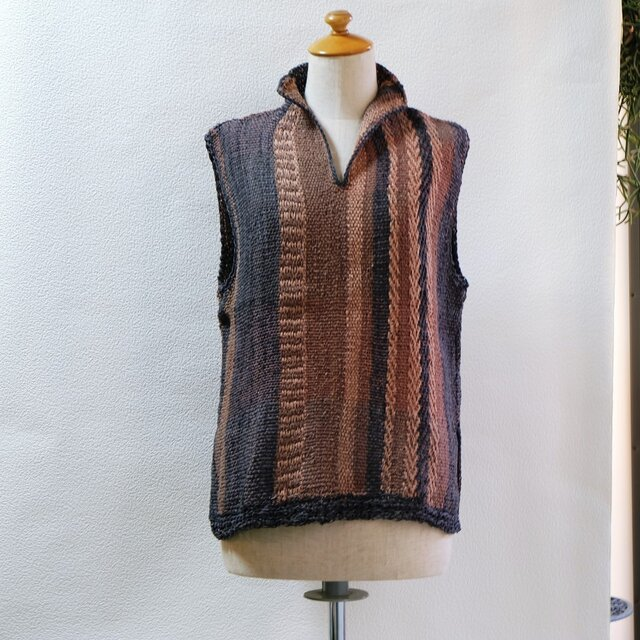 草木染手織りno.27の画像1枚目