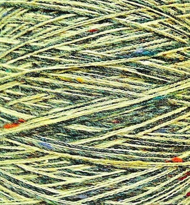 ウールミックス糸 ミックスカラー 120 gの画像1枚目
