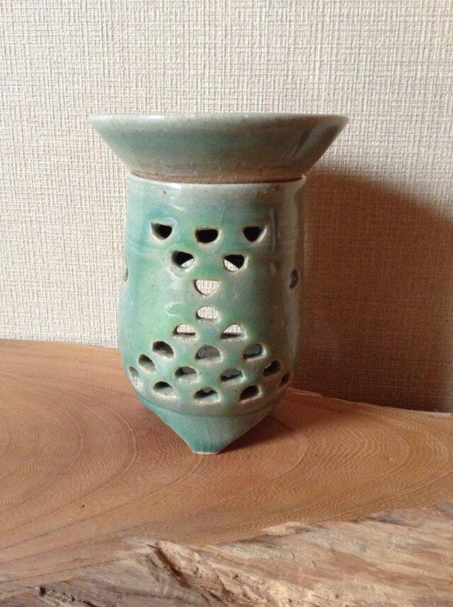 茶香炉ー青海波紋の画像1枚目