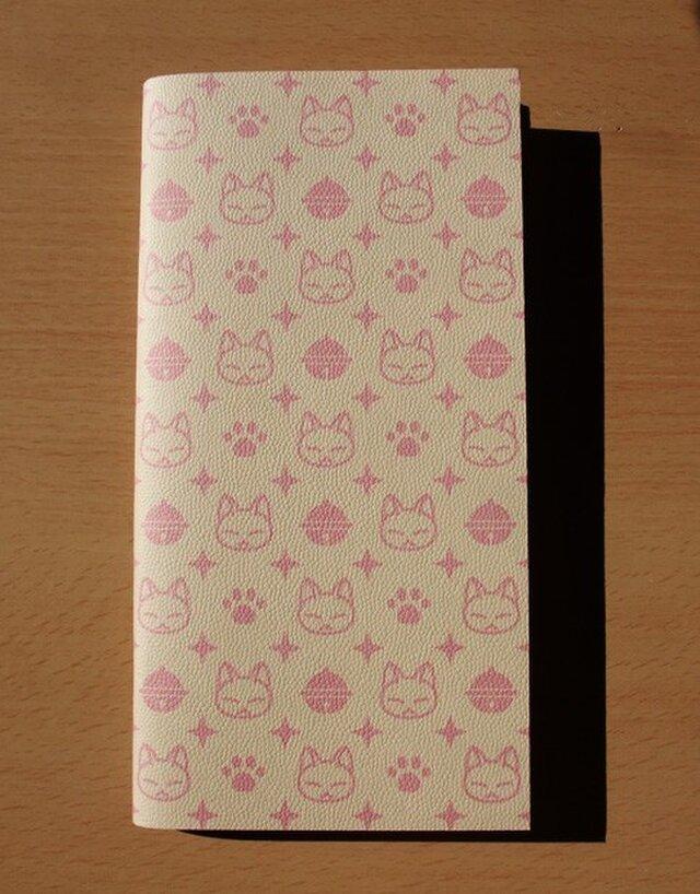 ハンドメイドトラベラーズノートリフィル(レギュラーサイズ)2mm方眼 ピンクの画像1枚目