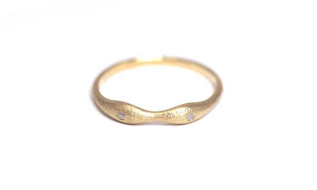 種さやの指輪B(K10 ダイヤ)の画像1枚目